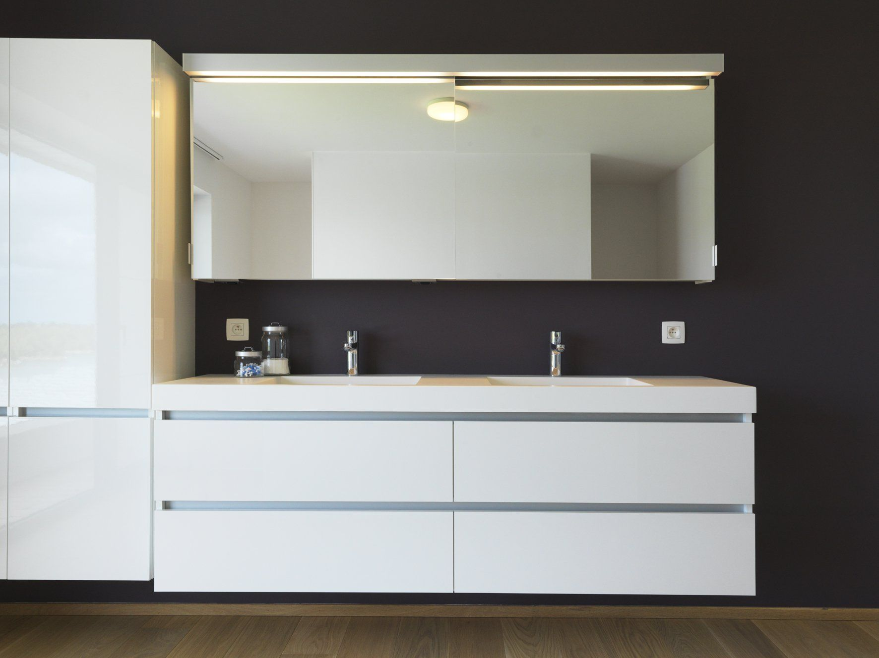 White Solid Surface bathroom by Dzignstone. | Modern Solid Surface ...