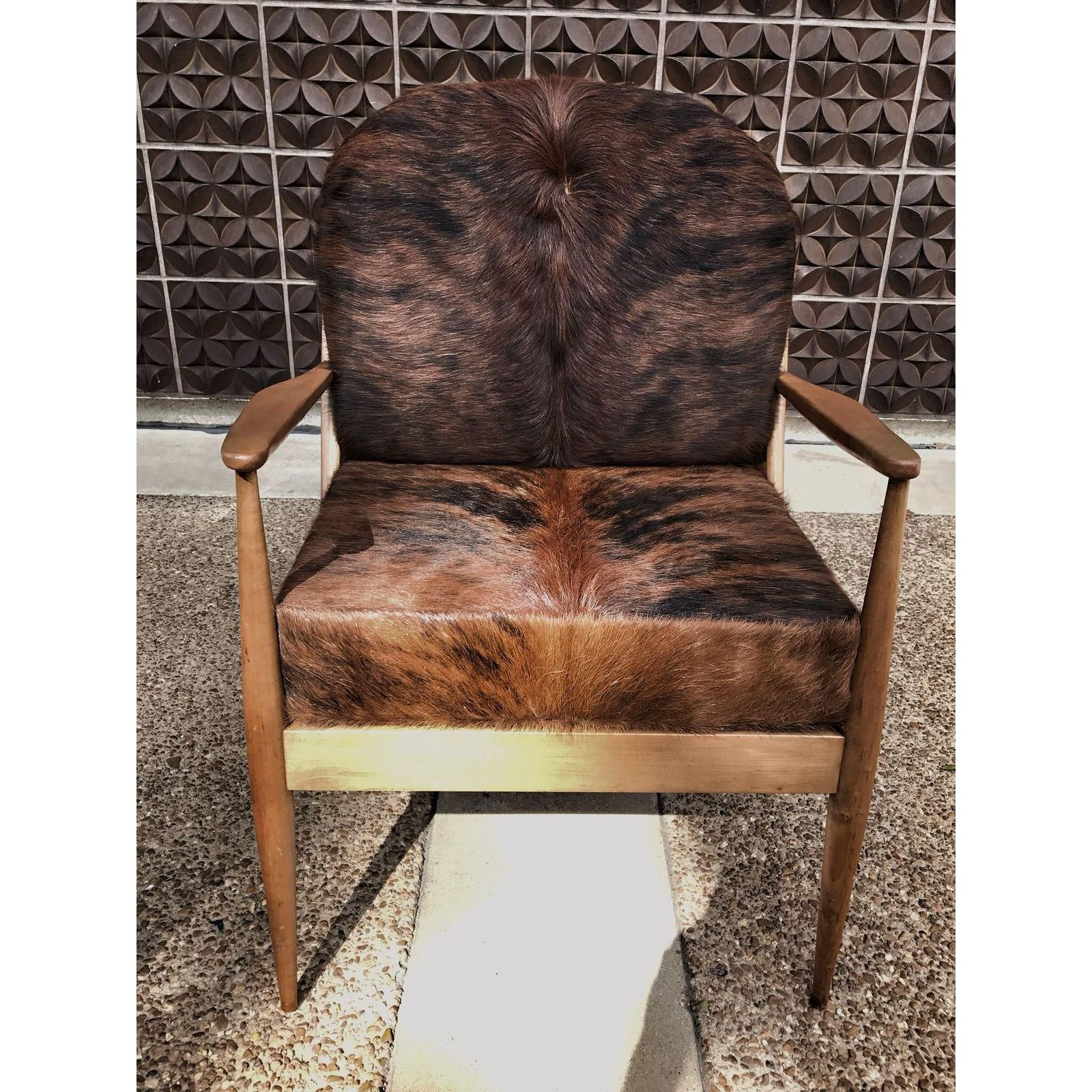 Awe Inspiring Danish Mid Century Modern Cowhide Chair Dragonfly Family Evergreenethics Interior Chair Design Evergreenethicsorg