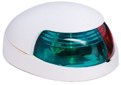 Attwood Marine 3120-7 QuasarT 2-Mile Deck Mount Bi-Color Red//Green Combo