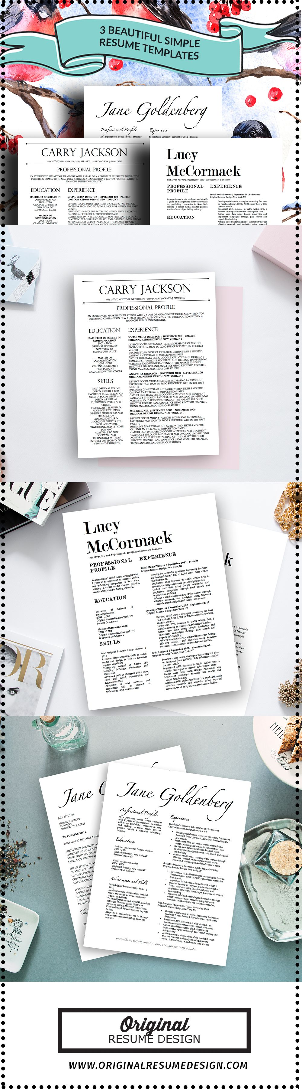 micro resume templates