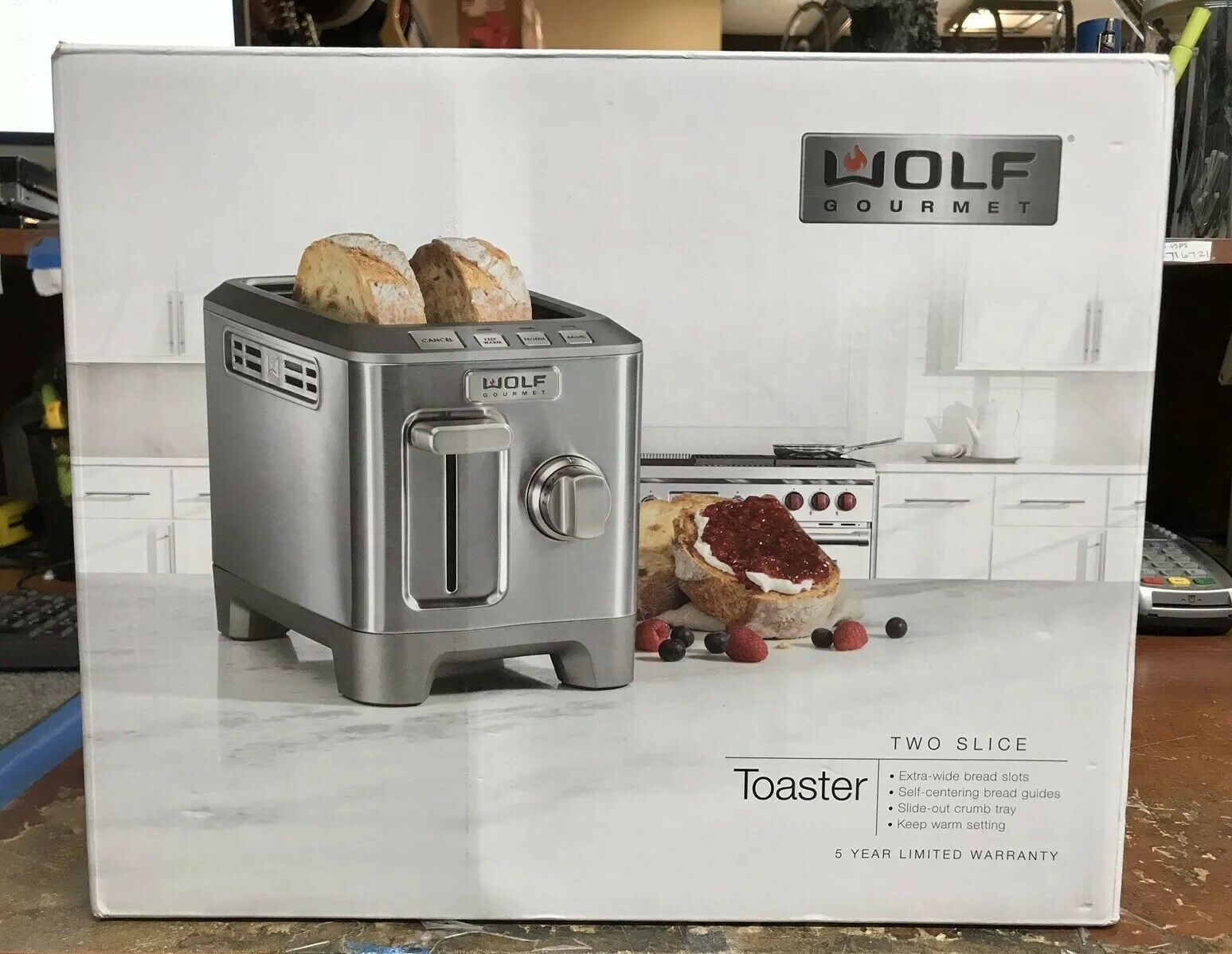 WOLF GOURMET TWO SLICE TOASTER NEW Toasters Ideas of