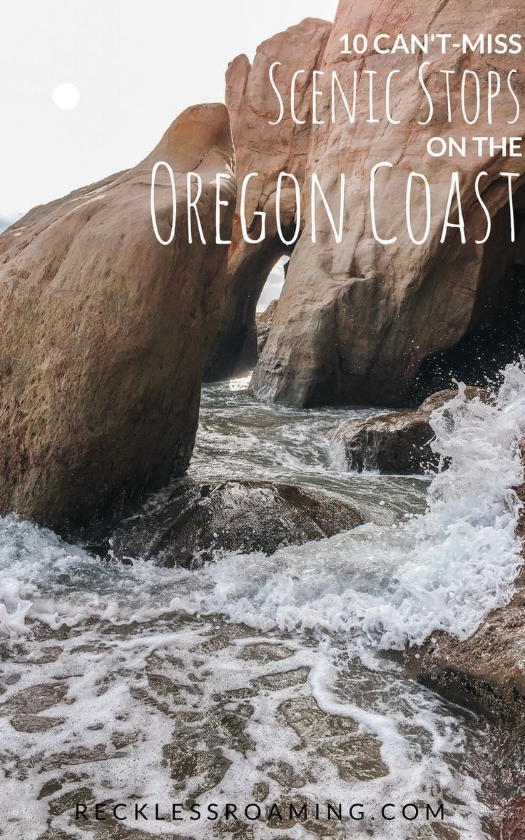 14 Best, Easy Stops for your Oregon Coast Road Trip - Reckless Roaming