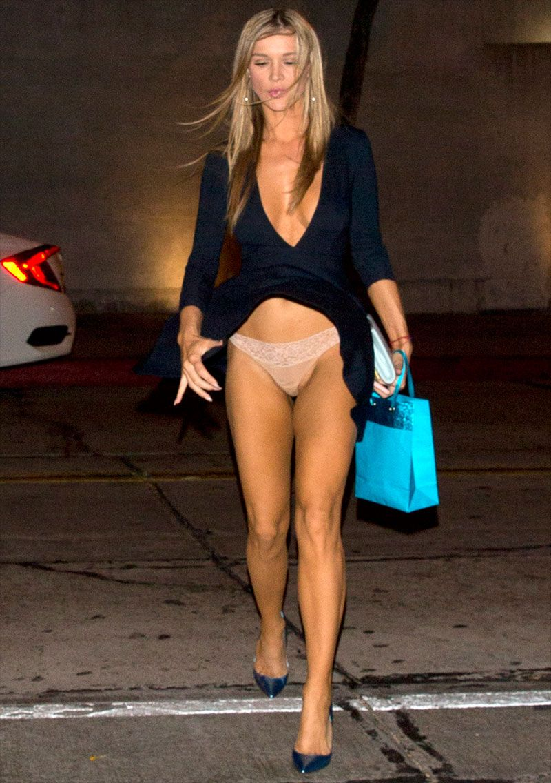 joanna krupa wind blown upskirt on a night out on taxidrivermovie