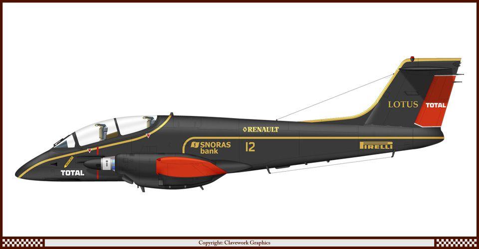Pucara Lotus/Renault Color Sheme