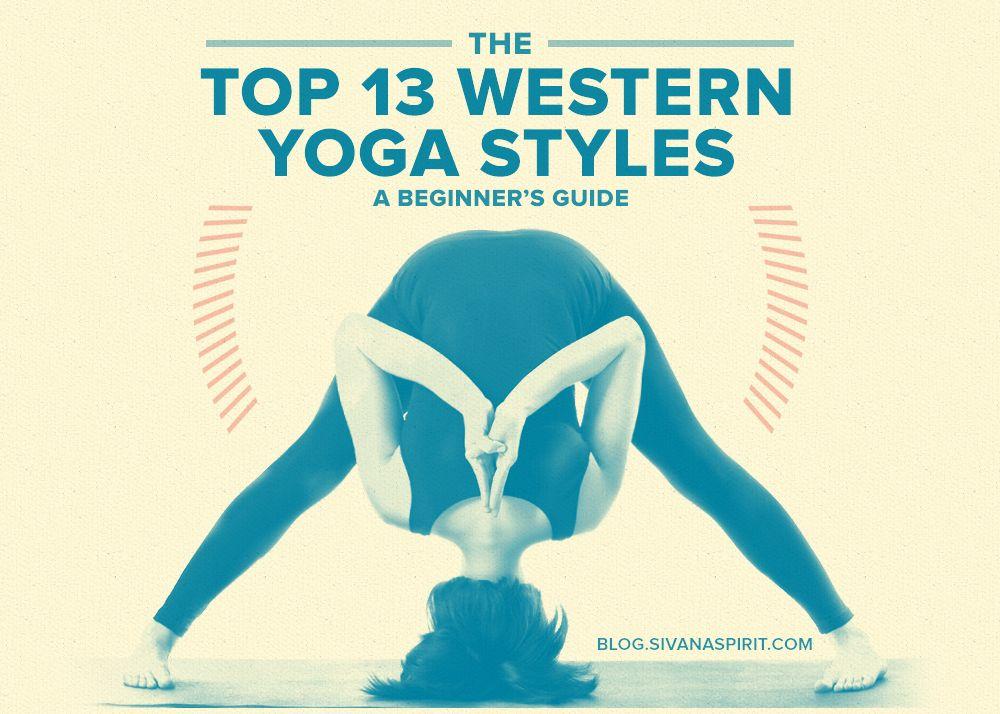 Las Top 13 Estilos de Yoga de Occidente