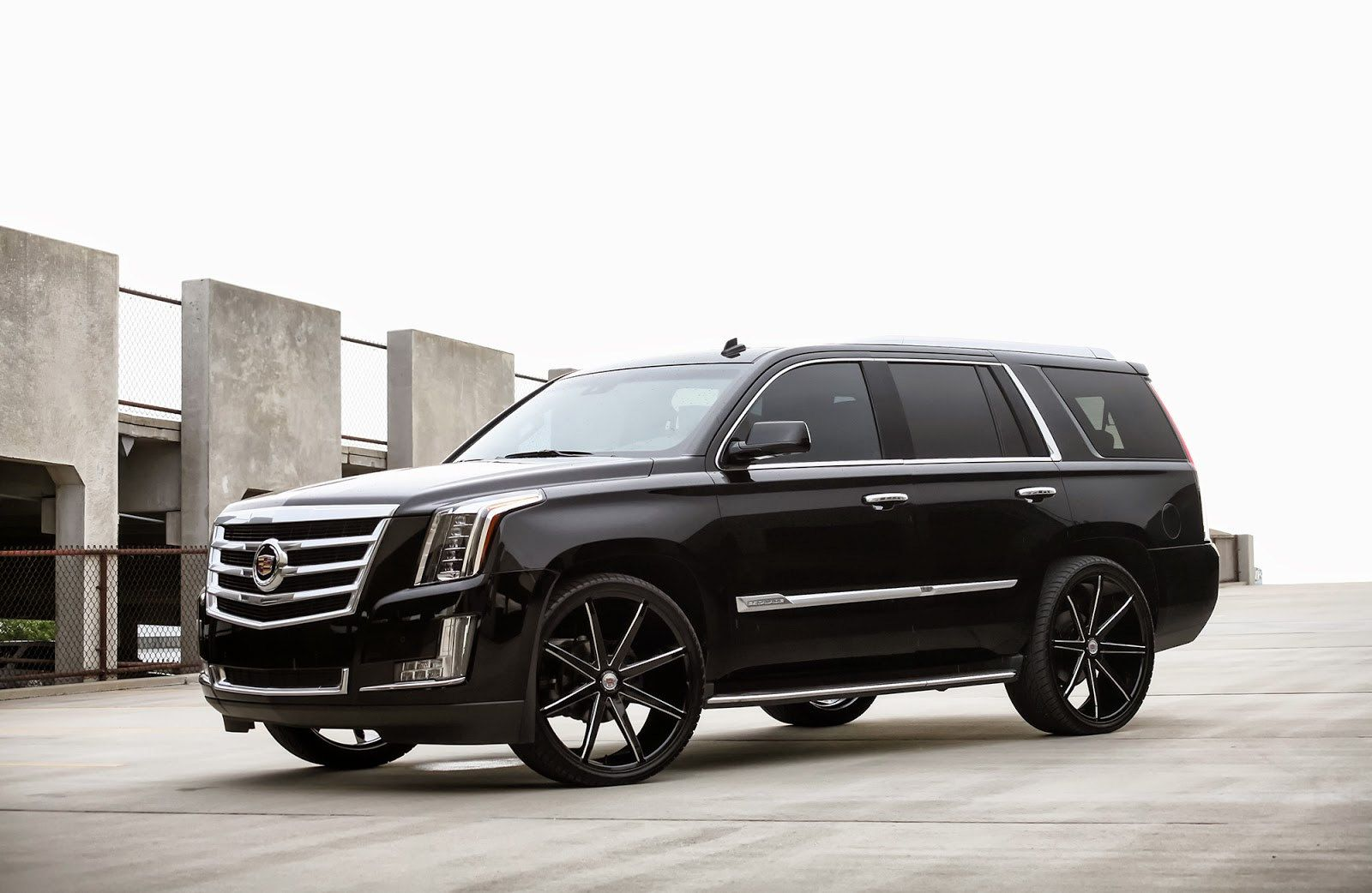 26 2015 cadillac escalade by dub wheels 01 voitures. Black Bedroom Furniture Sets. Home Design Ideas
