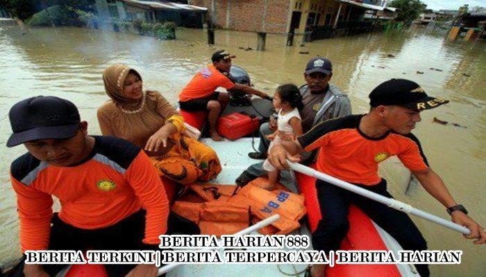Dua Anak Tewas Saat Banjir Melanda Medan