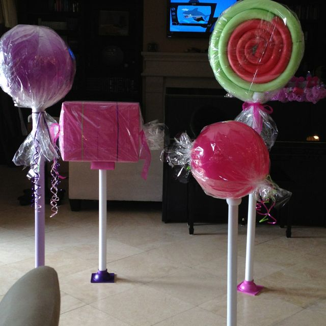 how to make giant candy props