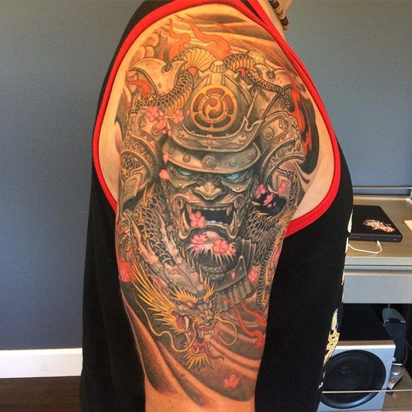 45 Japanese Tattoos With A Culture Of Their Own: 75 Of The Best Samurai Tattoo Designs