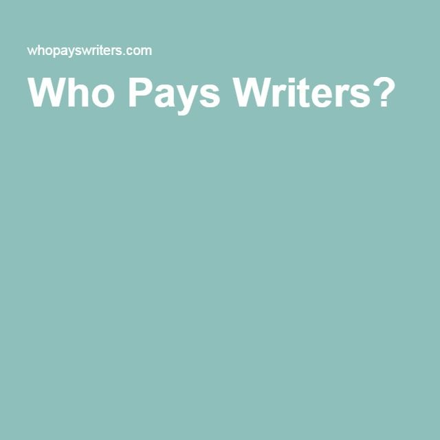Who Pays Writers?