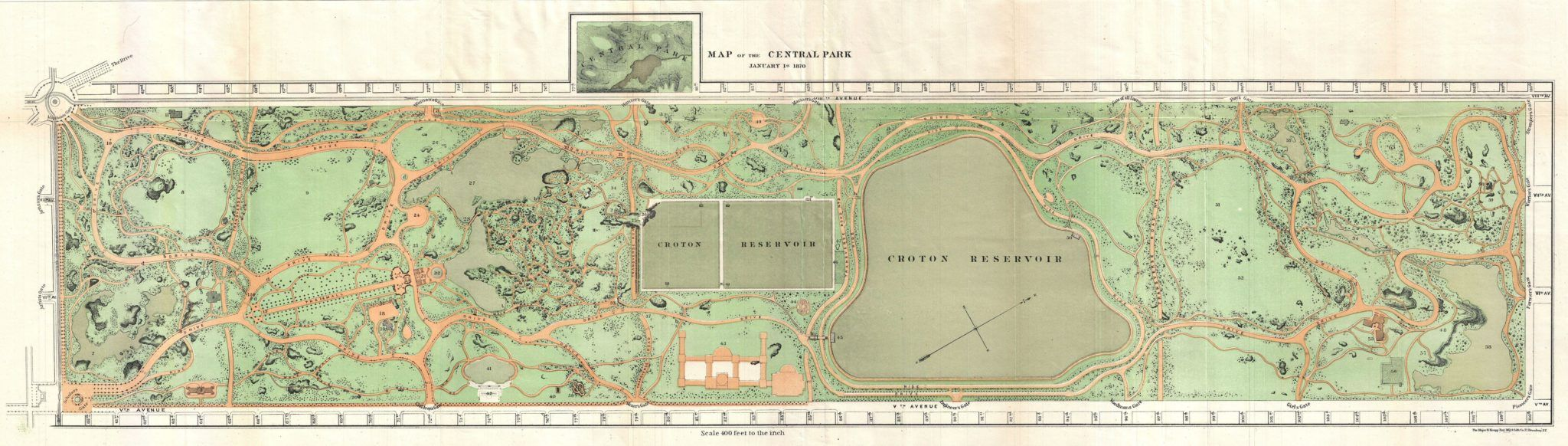 10 Design Principles Of Frederick Law Olmsted The Father Of American Landscape Architecture Thi Frederick Law Olmsted Central Park Manhattan Central Park Map