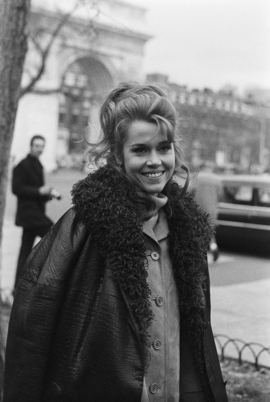 Jane Fonda 1970 New York Fashion Pinterest