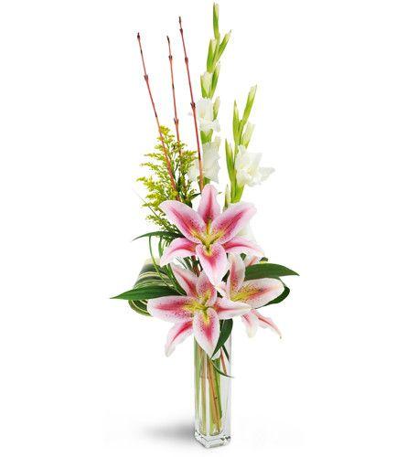 Starry Romance Orchid Flower Arrangements Flower Arrangements Simple Gladiolus Flower