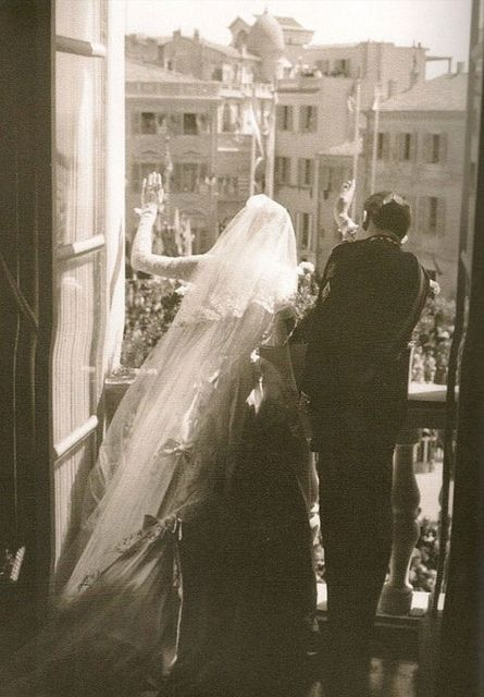 {great love stories № 01 | grace kelly & prince rainer III of monaco}