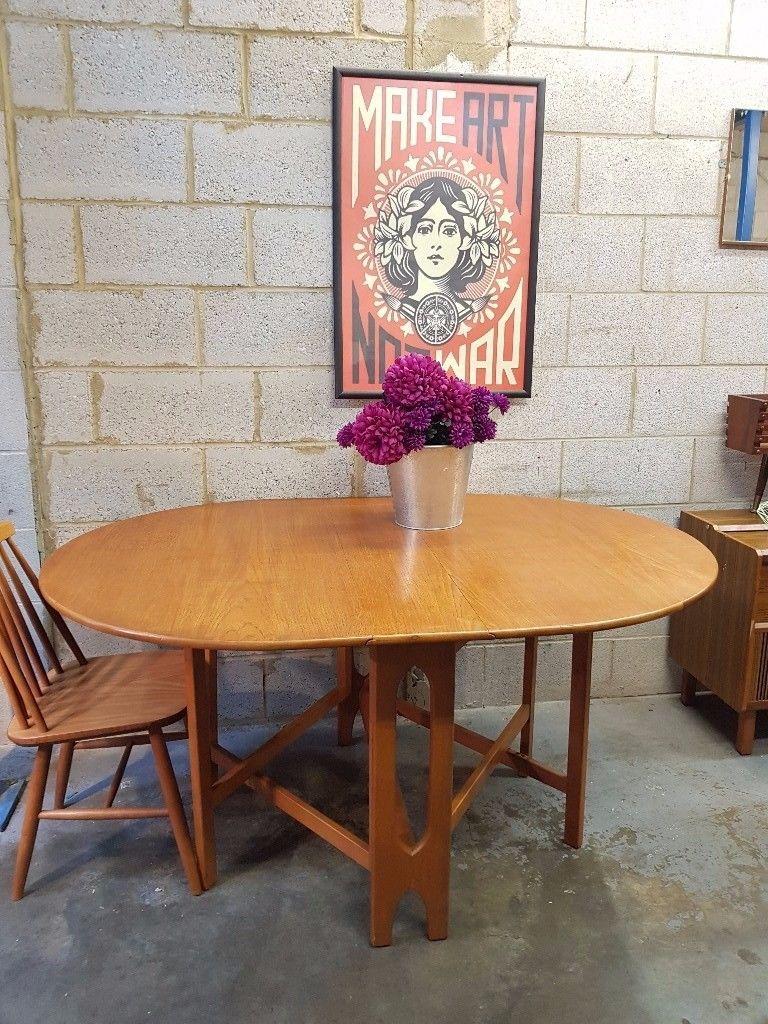 Mid Century Jentique Drop Leaf Table Drop Leaf Table Table