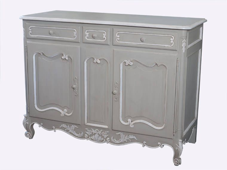 Enquire About Our Louis Xv 2 Door Provincial Sideboard Painted French Furniture
