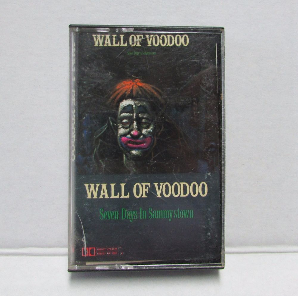 Wall of Voodoo Seven Days In Sammystown Audio Cassette Tape Hard to Find #ElectronicPunkNewWave