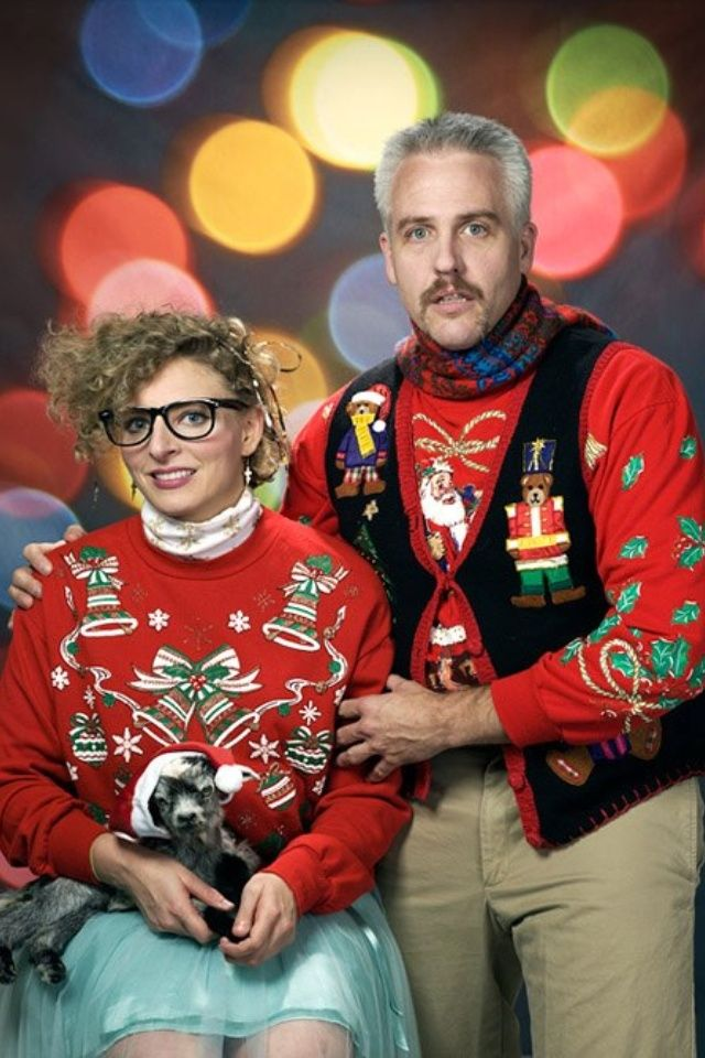 25 Ugly Christmas Sweaters You Wish You Had. ,This NOT my style of fashion,  but had to pin due to it\u0027s so classic for ugly christmas sweaters \u0026 the  photo is
