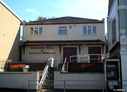 Kingdom Hall of Jehovahs Witnesses, Walthamstow, East London, England