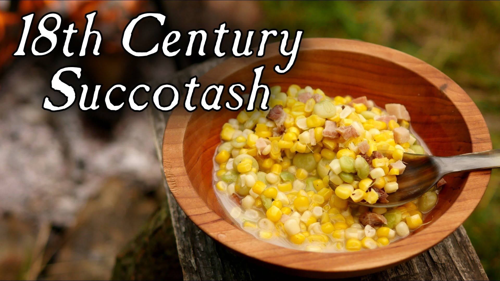A Centuries-Old Succotash Recipe! -for veg, omit meat.