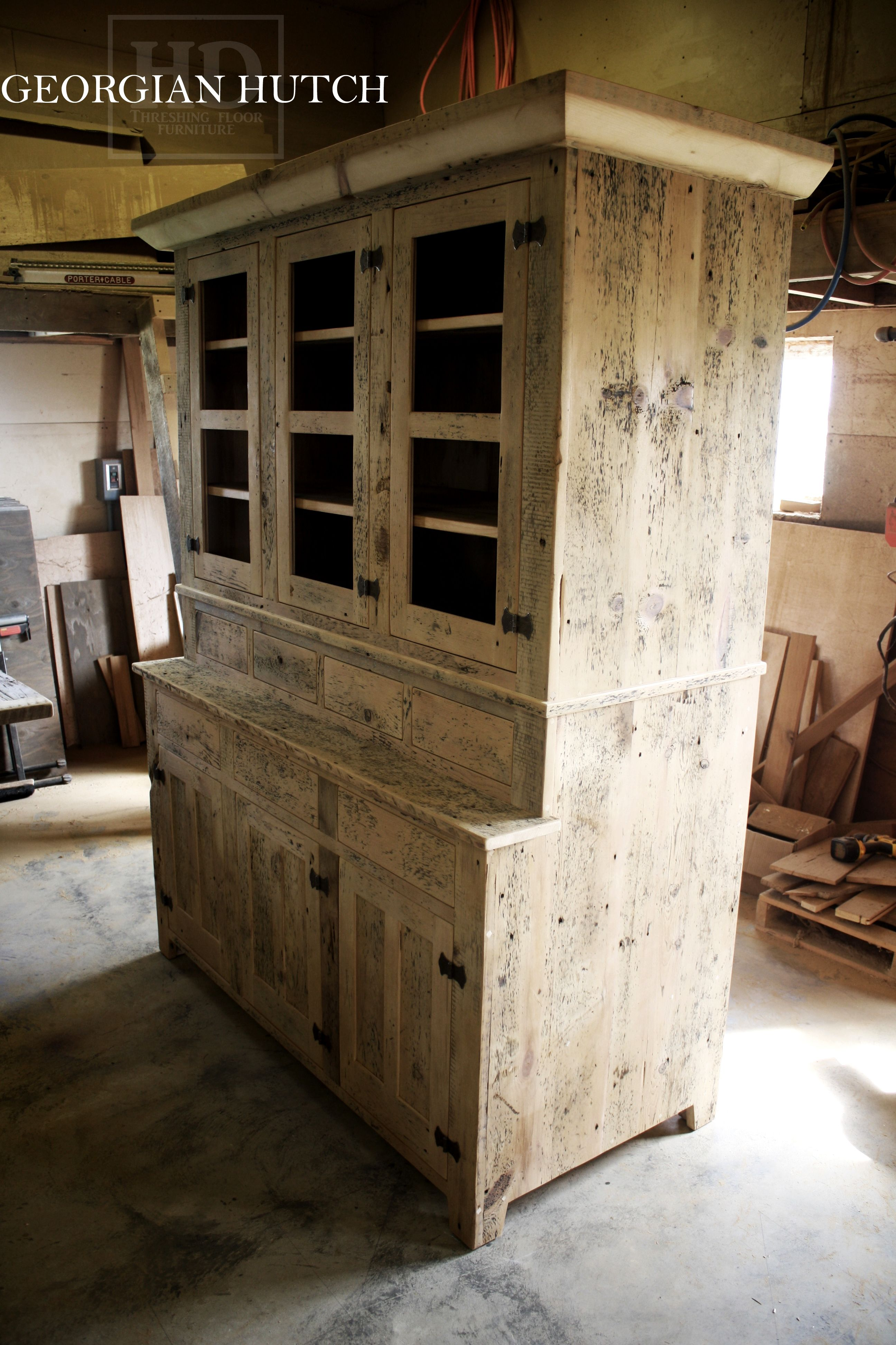 Www Hdthreshing Com Reclaimed Wood Hutches By Hd Threshing Floor