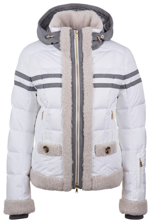 Bogner Damen Skijacke Zaida-D Weiss | Mode, Modestil