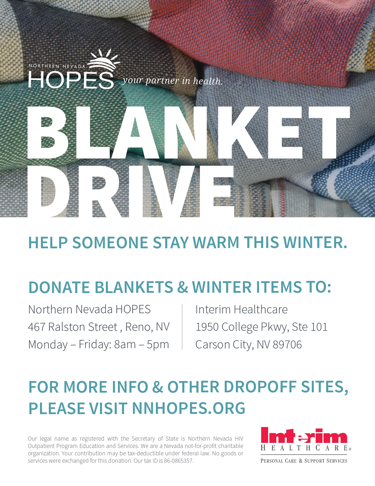 Blanket Drive Flyer 02.png (1275×1650)  Clothing Drive Flyer Template