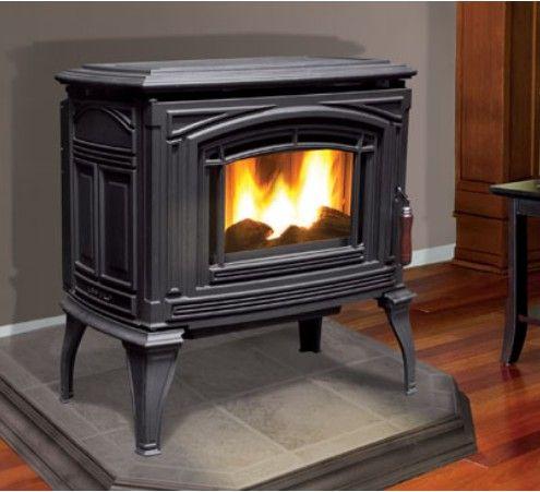 Enviro Meridian Cast Pellet Stove Pellet Stove Pellet Stove Hearth Wood Burning Fireplace Inserts