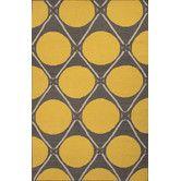 Found it at Wayfair - En Casa Yellow/Taupe Geometric Area Rug