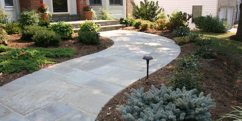 square flagstone walkway - Google Search | Flagstone | Pinterest ...