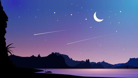 Bays nights Imagem de fundo de computador, Papel de