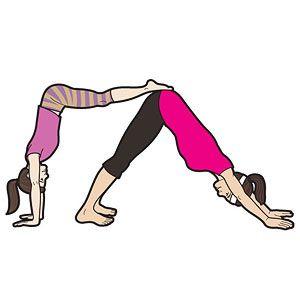 Strike A Pose Parent Child Yoga Super Partner Poses 1 Sitting Seesaw 2 L Dog 3 Sunbathing Rock