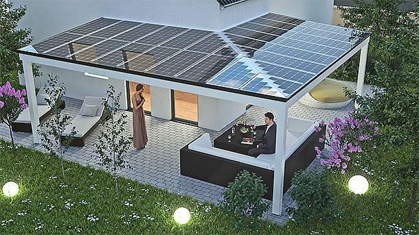 Sonnenschutz Mit Zusatznutzen Terrassendach Uberdachung Terrasse Terrassen Dach