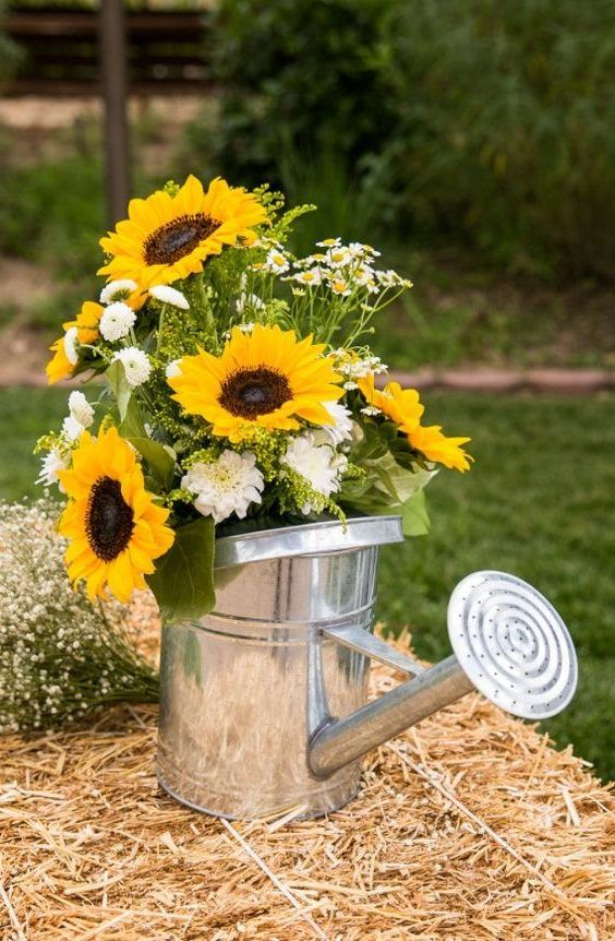 Photo of 100 Bold Country Sunflower Wedding ideas