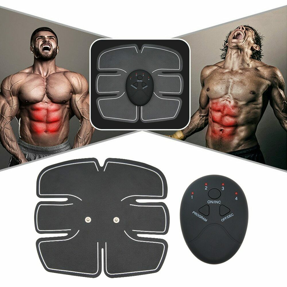 Abdominal Muscle Stimulator Fitness Equipment Training Gear Six Pack Ab Ebay Muscle Stimulator Hip Muscles Abdominal Muscles
