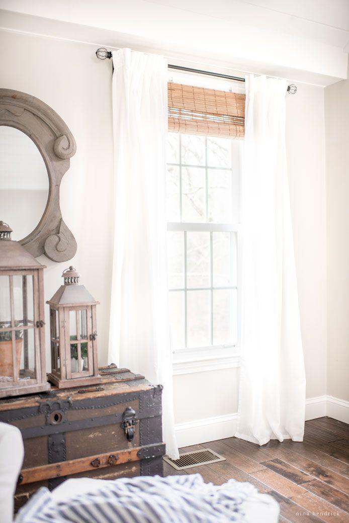 Stylish Budget Window Treatments Farmhouse Window