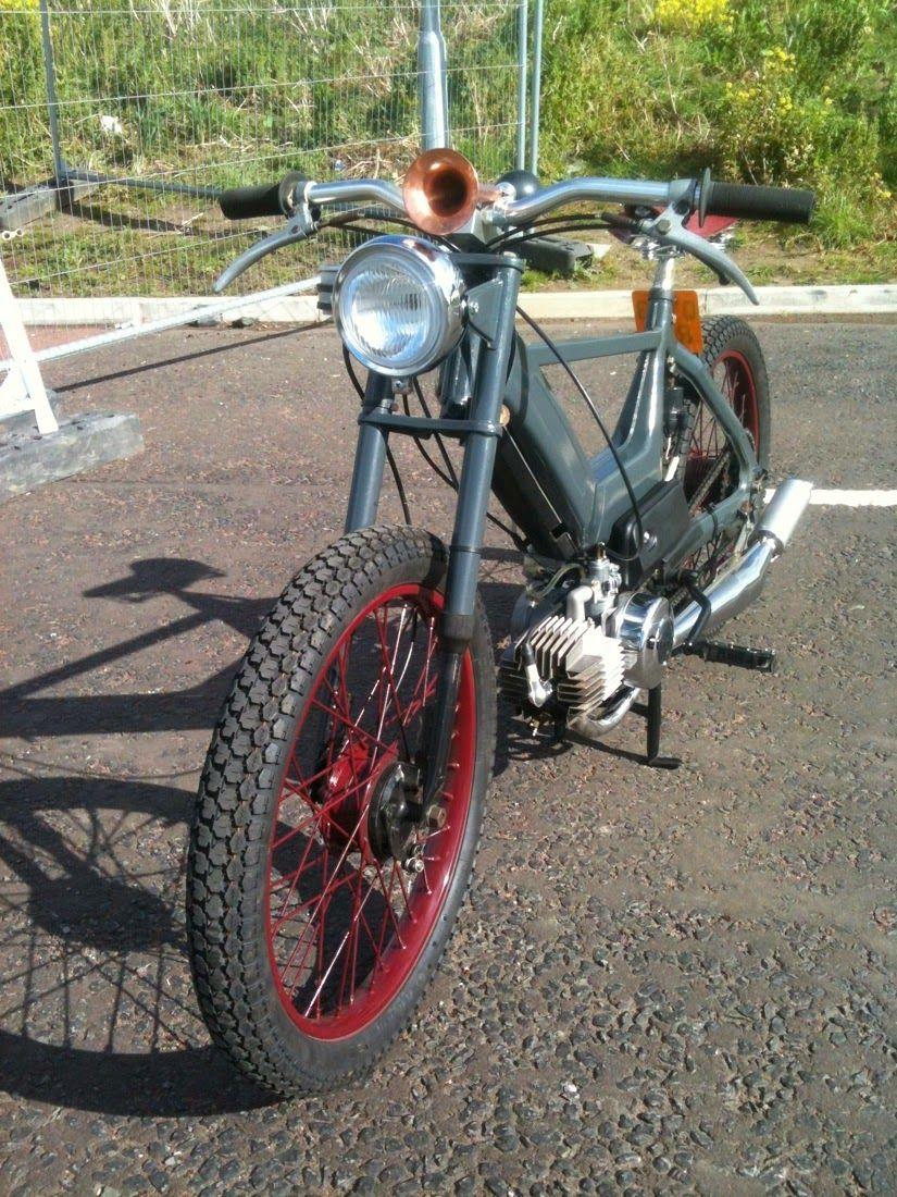 Bubble visor ingo bousa puch maxi moped vintage