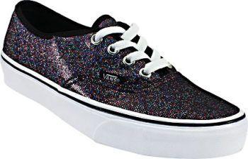 777d5f2603d775 Womens Vans Authentic Glitter Skate Shoes