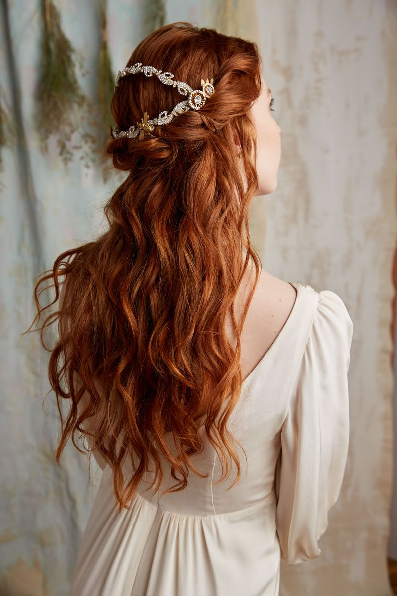 amazing bridal hair inspiration for your wedding day | bridal hair