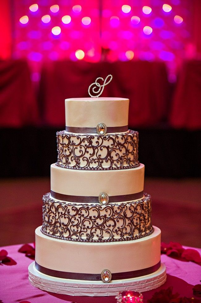 11 Indian Wedding 5 Tiered Cake Designs