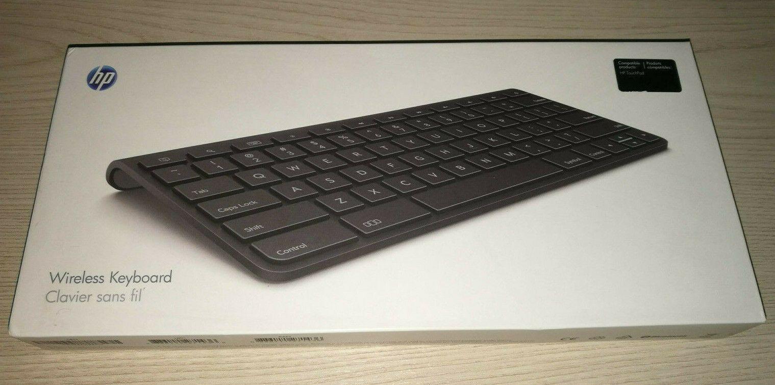 Hp Touchpad Wireless Keyboard Slim Bluetooth Batteries Included Ideas Of Wireless Keyboard Wirelesskeyboard In 2020 Keyboard Wireless Wireless Mouse