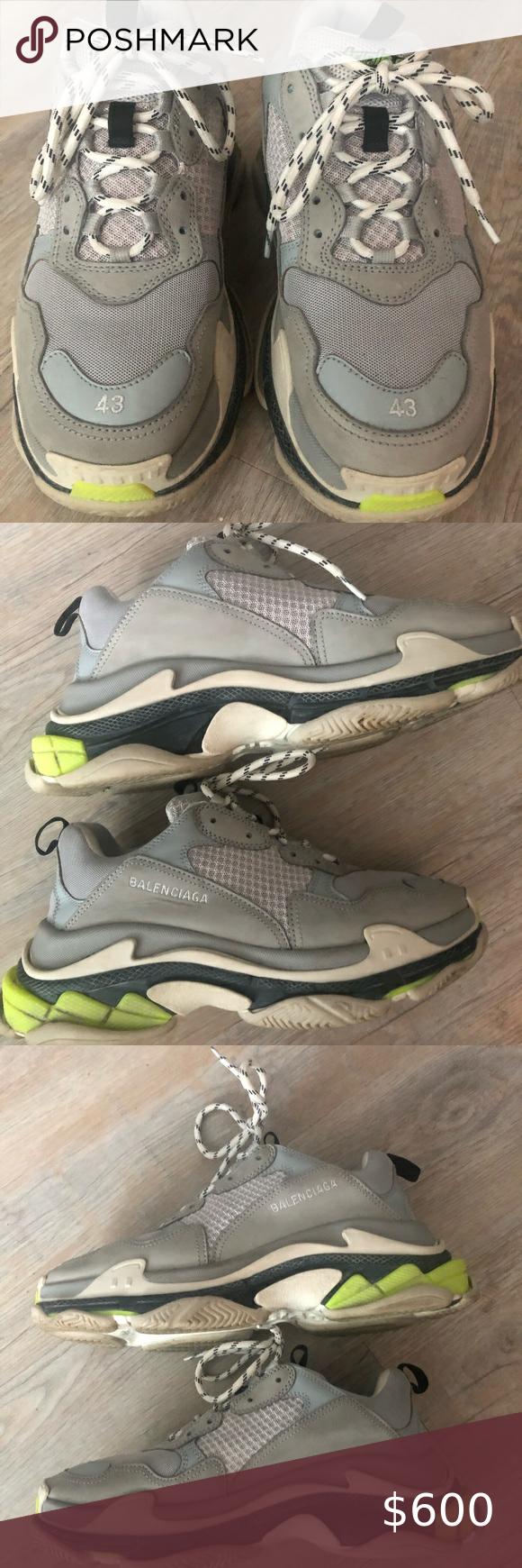 Balenciaga Triple S sneakers size 43 in