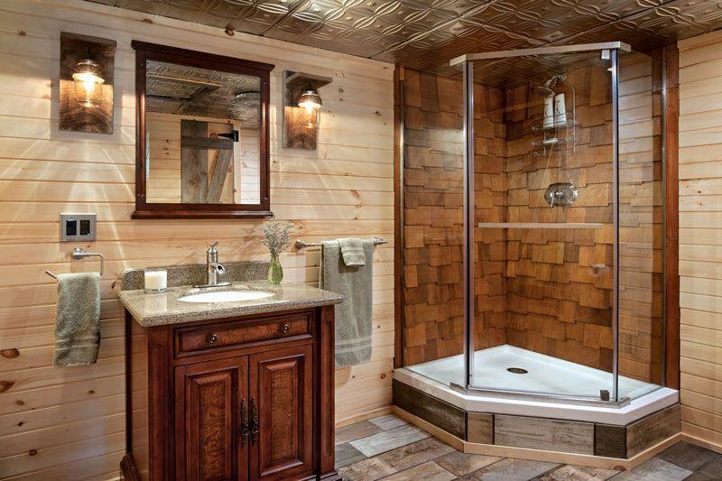 Log Home Bathroom Design Ideas Bathroom designs and Logs