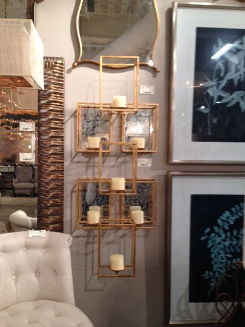 Dimensional Wall Art And Candle Holder Uttermost Home Decor Accents