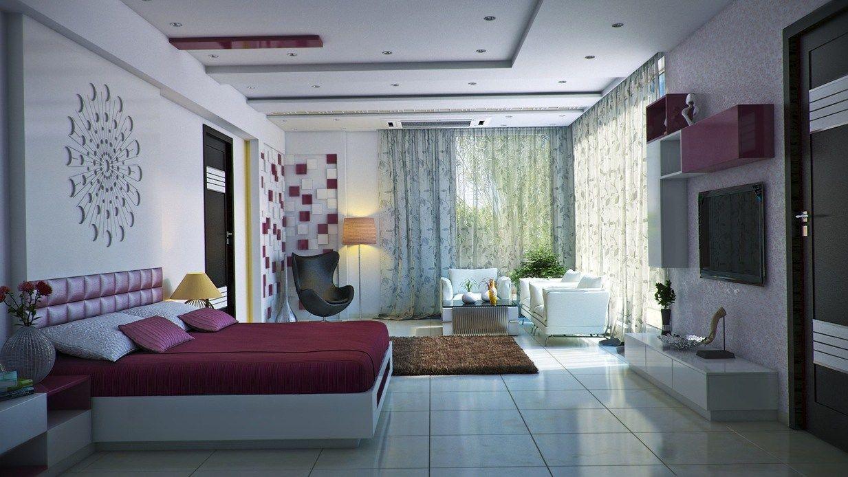 Burgundy Accents Artsy Bedroom Imagebox Studio Bedrooms Ideas Images