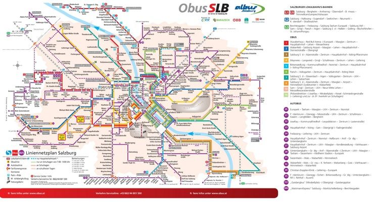 large detailed of salzburg map » Full HD MAPS Locations - Another ...