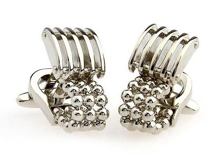 CUFFLINKS - Silver Cufflinks