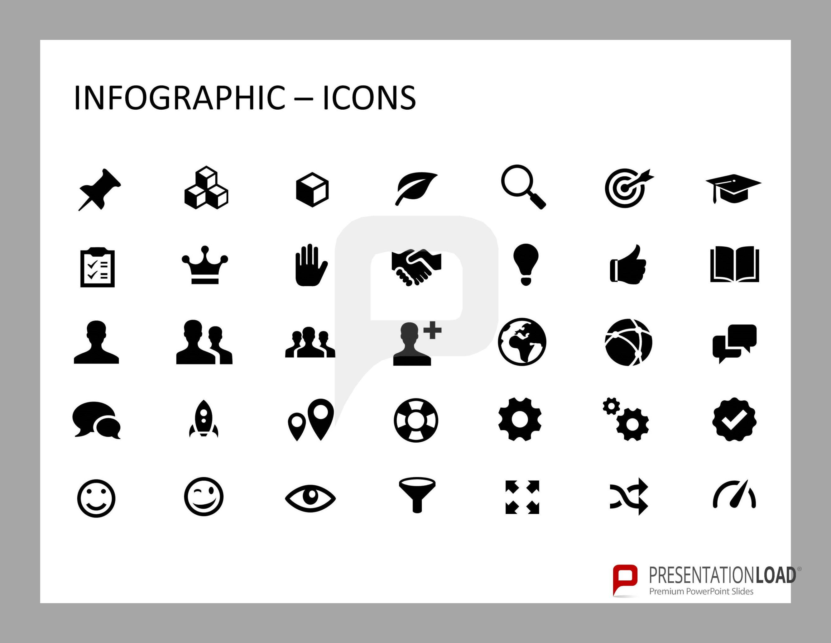 This set of infographic PowerPoint templates includes a