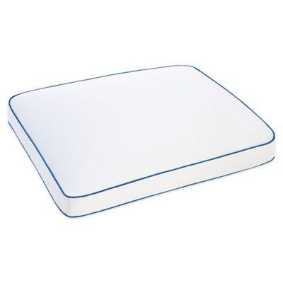 Serta Gel Memory Foam Side Sleeper Pillow Bedbathandbeyond Com Side Sleeper Pillow White Pillows Memory Foam