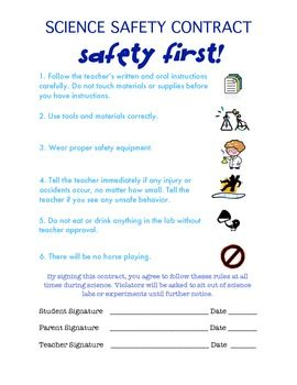 HereS A Simple Science Safety Contract This One Has  Basic